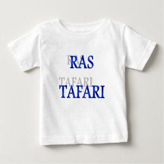 T-shirt bleu de bébé de Rastafari