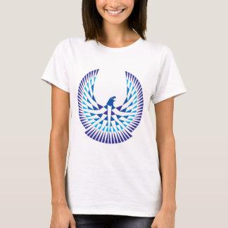T-shirt Bleu de chemise de logo de loge de liberté