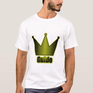 T-shirt Bleu de couronne de Guido