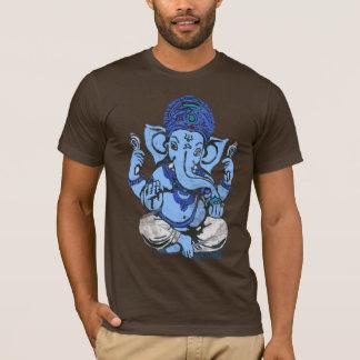 T-shirt bleu de ganesh