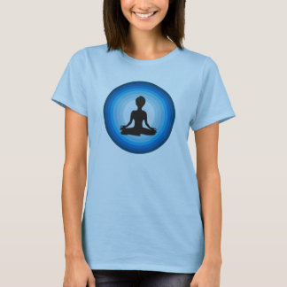 T-shirt Bleu de Lotus