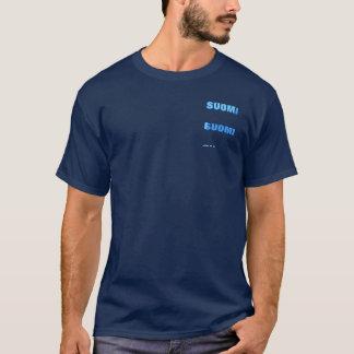 T-shirt bleu de SUOMI (fierté finlandaise)