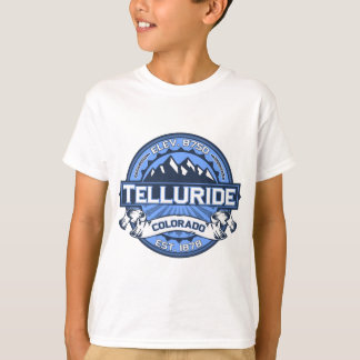 T-shirt Bleu de tellurure