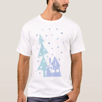 T-shirt bleu de tree&house