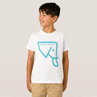 T-shirt bleu d'éléphant du MMNH des enfants