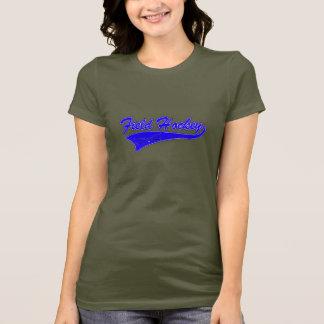 T-shirt Bleu d'hockey de champ