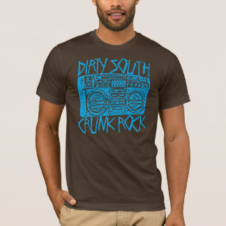 """T-shirt Bleu du sud sale de Lil Jon """"Boombox """""""