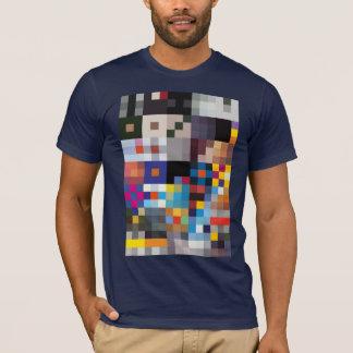 T-shirt bleu-foncé