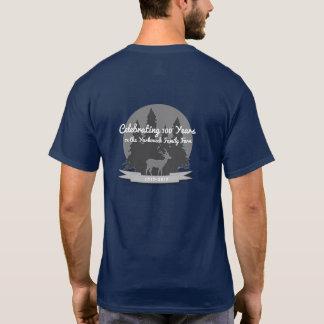 T-shirt Bleu marine de chemise de la Réunion de famille de