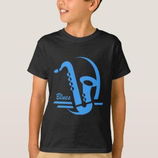 T-shirt Bleus bleus de saxo
