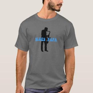 T-shirt Bleus de papa de bleus
