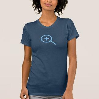 T-shirt Bleus simples bourdonnent dedans chemise d'icône