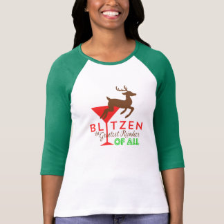 T-shirt Blitzen… Le plus grand renne de tous !
