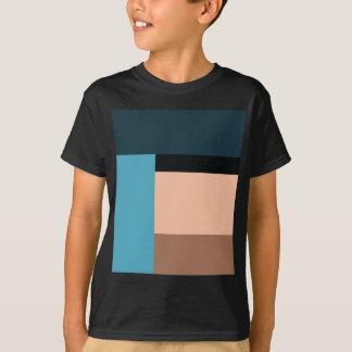 T-shirt Bloc de couleur de crème glacée