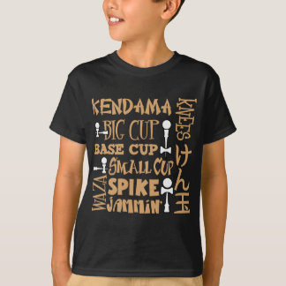 T-shirt Bloc de Kendama, gold2