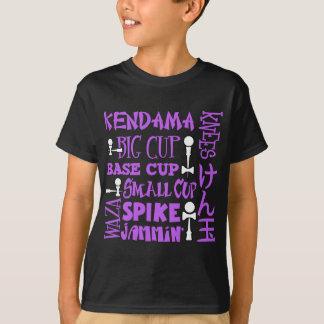 T-shirt Bloc de Kendama, purple2