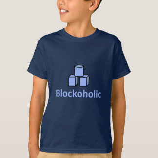 T-shirt Blockoholic