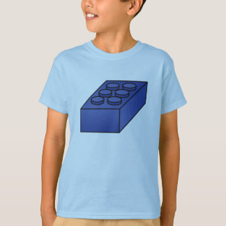 T-shirt Blocs constitutifs - illustration de vecteur
