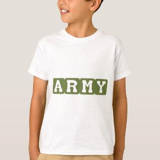 T-shirt Blocs d'armée (vert)