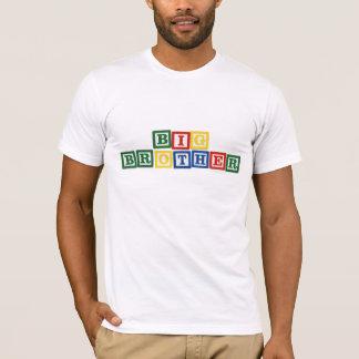 T-shirt Blocs de bébé de frère
