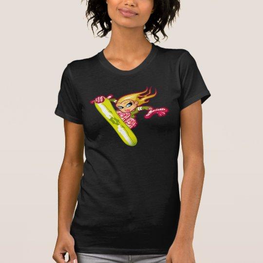 T-shirt Blond snow girl