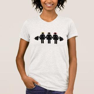 T-shirt Blonde, brune, roux