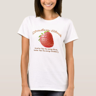 T-shirt Blonde de fraise