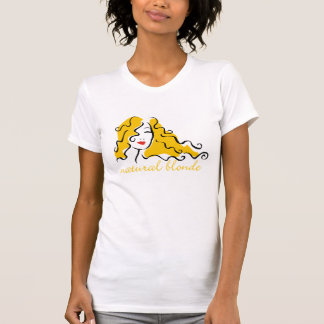 T-shirt Blonde naturelle