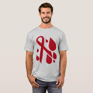 T-shirt Blood cancer awareness