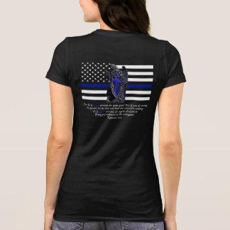 T-shirt Blue Line mince Michael Arkhangel