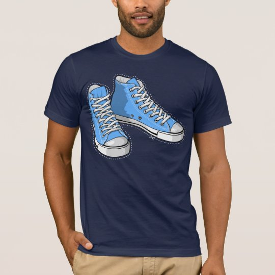 T-shirt Blue sneakers
