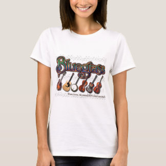 """T-shirt """"Bluegrass - 100% Américain-Fait """""""