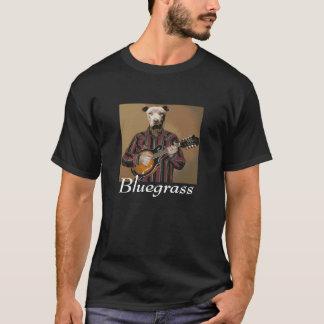 "T-shirt ""Bluegrass"" - Pitbull avec la mandoline T~Shirt"