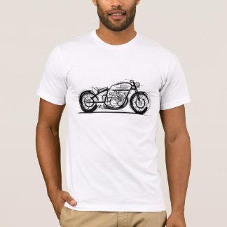 T-shirt Bobber de moto