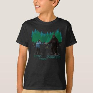 T-shirt Bobo rencontre Squatch