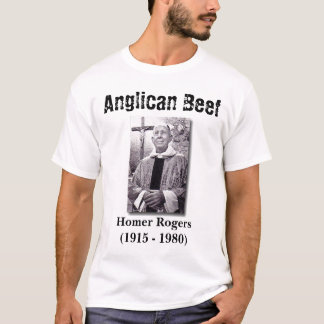 T-shirt Boeuf Anglican, Homer Rogers