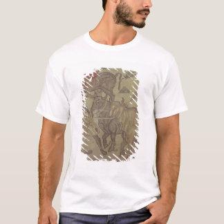 T-shirt Boeufs transportant l'eau, mosaïque romaine