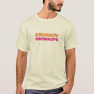 T-shirt Boire drôle d'adultes de Drunkin