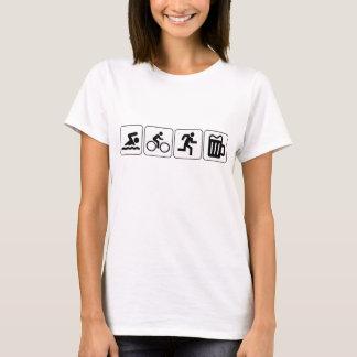 T-shirt Boisson de course de vélo de bain