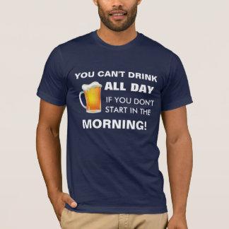T-shirt Boisson toute la journée