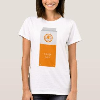 T-shirt Boîte à jus d'orange