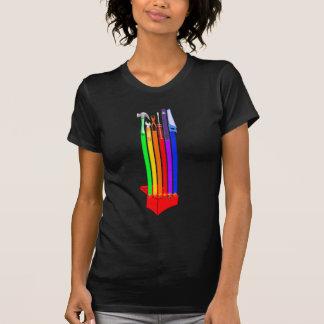 T-shirt Boîte à outils de Rainbo