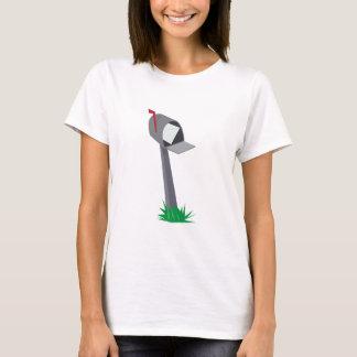 T-shirt Boîte aux lettres de penchement