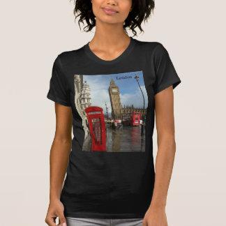 T-shirt Boîte de téléphone de Londres et Big Ben (St.K)