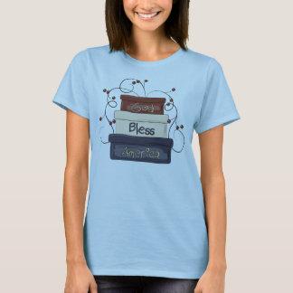 T-shirt Boîtes americana