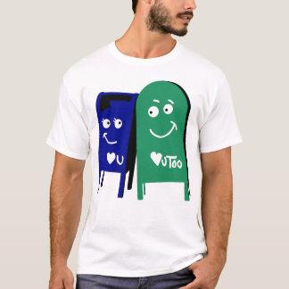 T-shirt boîtes aux lettres de Denver je t'aime