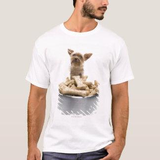T-shirt Bol de festins de chien par Yorkshire Terrier