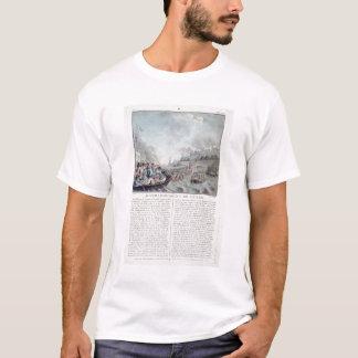 T-shirt Bombardement de Gênes, 1684, gravé par Jean Bapti