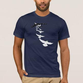 T-shirt Bombardier de colombe de la paix B52