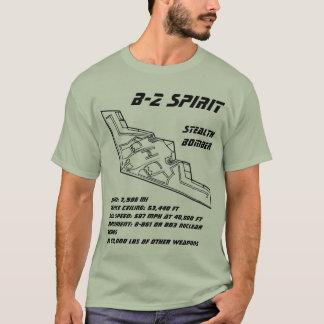 T-shirt Bombardier de discrétion de l'esprit B-2